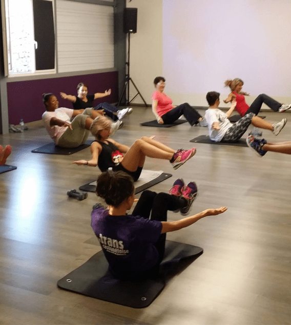 cours collectifs Fitness Musculation Cardio-training Self fitness Sismo Fitness Abdos Circuit training cours collectifs de fitness - Moving Express Rodez